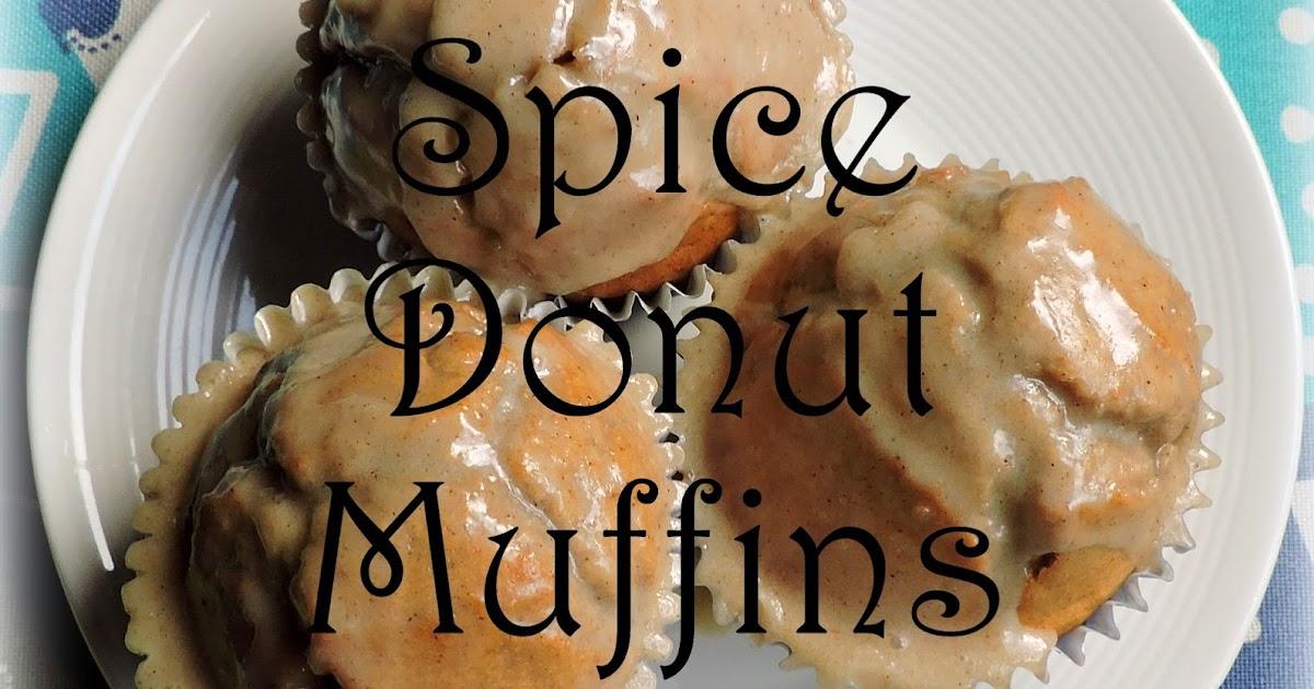The English Kitchen: Chai Spiced Glazed Doughnut Muffins
