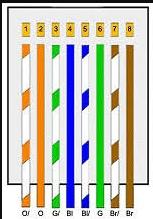 warna kabel straight