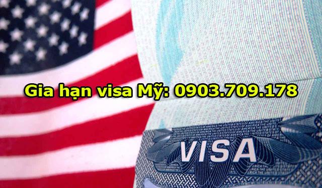 Hướng dẫn thủ tục xin gia hạn visa Mỹ