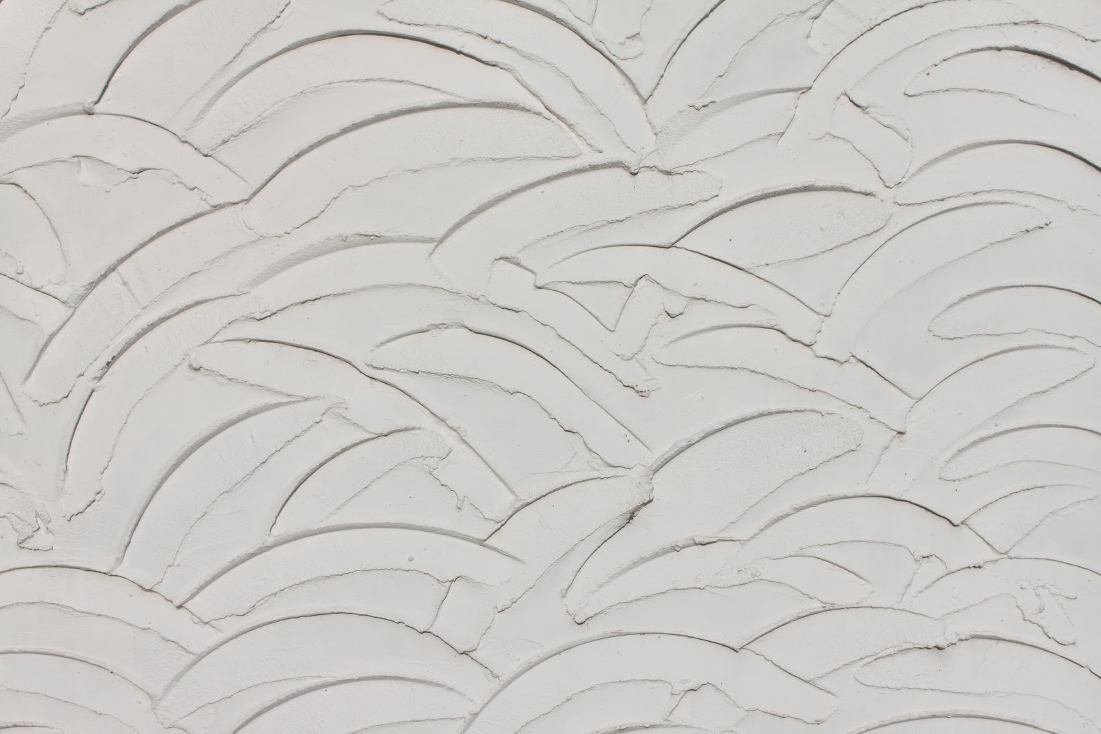 High Resolution Seamless Textures: White Wavy Wall Plaster ...