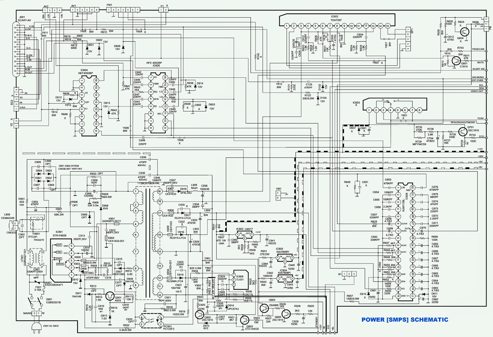 Atx 450w Smps Circuit Diagram 66 Mustang Alternator Wiring Power Supply Schematic Electro Help Onida 21 29 Oxygen Thunder Ctv Schematics Diagrams