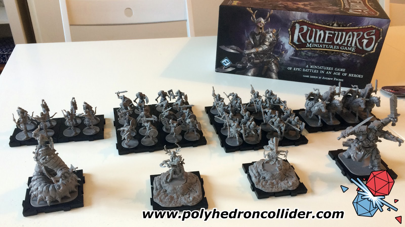 Runewars Miniatures Game Review | Polyhedron Collider