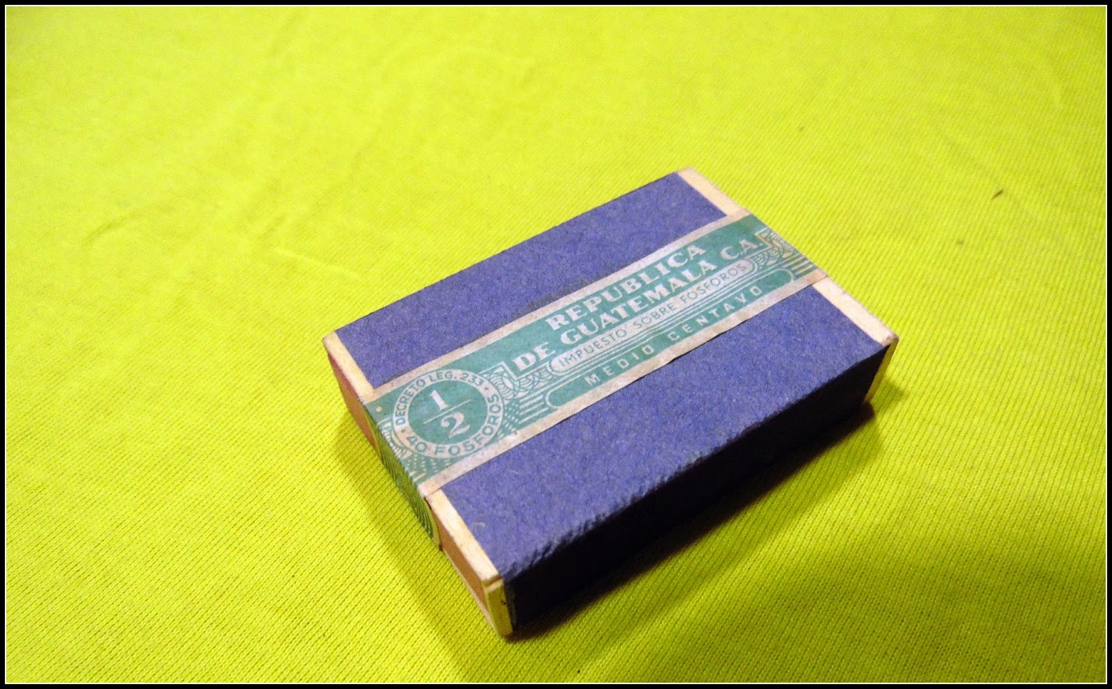 MATCHBOXES AND LABELS COLLECTION: GUATEMALA
