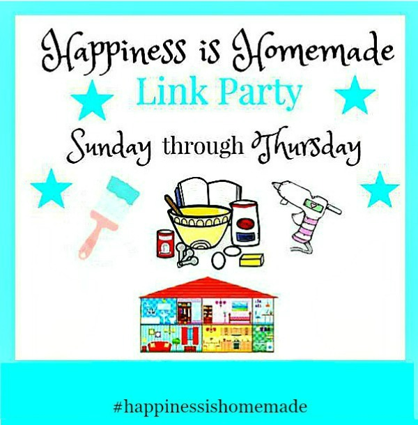 Happiness is Homemade Link Party of the week.