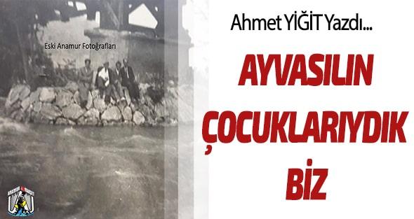 YAZARLAR,Ahmet Yiğit,Anamur Haber,
