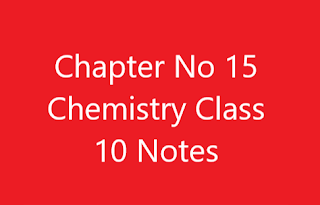 Chapter No 15 Chemistry