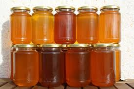 COLORES  DE LA MIEL - COLORS OF HONEY.