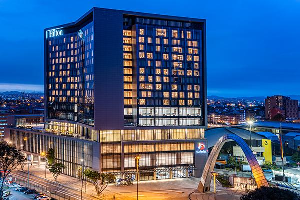 Hilton-Bogotá-Corferias-Galardonado-mejor-nuevo, hotel-sahic