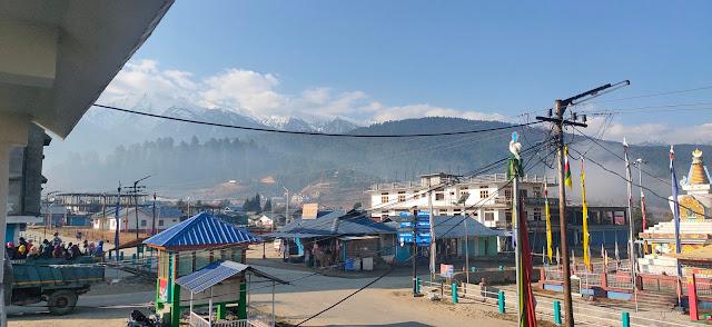 picture of Beautiful Mechuka town.