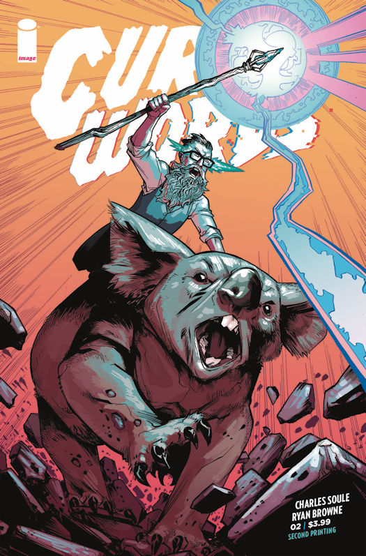 Curse Words' Paolo Rivera Cover Revealed