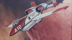 A-10 Warthogs có thể được chuyển đổi thành máy bay tiếp dầu phản ứng nhanh chống cháy rừng không?