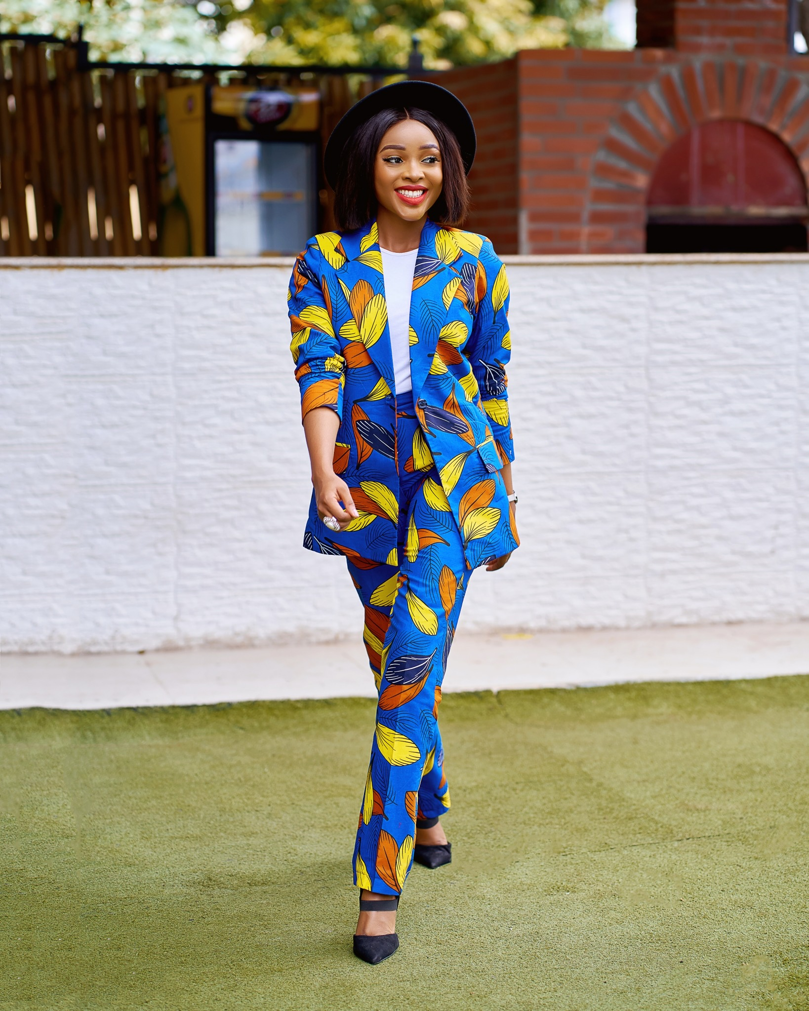 Fashionable Ankara Suit Styles