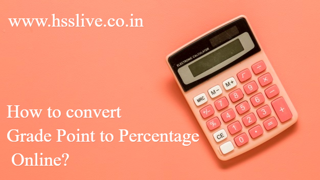 Kerala SSLC Percentage Calculator: How to convert Grade Point to Percentage Online?