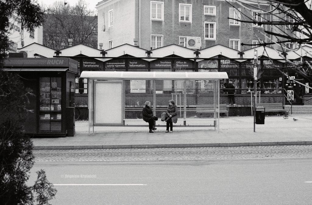 Przystanek autobusowy przy Wysokiej Bramie