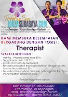Karir Surabaya di Tirta Ayu SPA Terbaru Desember 2019
