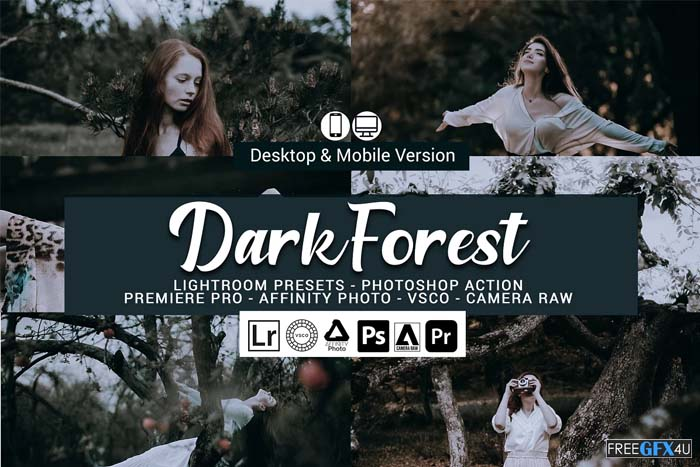 Dark Forest Lightroom Presets