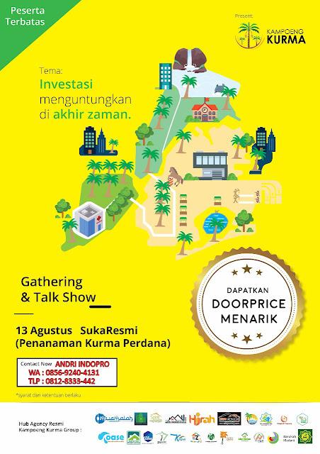 GATHERING-KAMPUNG-KURMA-JONGGOL-INVESTASI-KEBUN-KURMA-INDONESIA