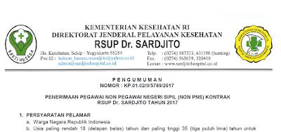 INFO LOWONGAN KERJA BAGI ALUMNI KEPERAWATAN UMRI: Rekrutmen Besar-besaran – Rumah Sakit Umum Propinsi Dr. Sardjito