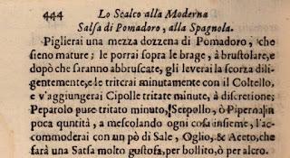 Salsa di Pomodoro alla Spagnola