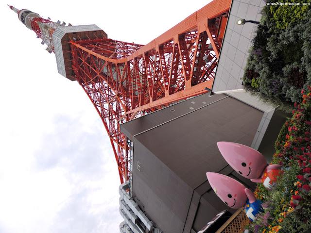 Torre de Tokio y sus Mascotas