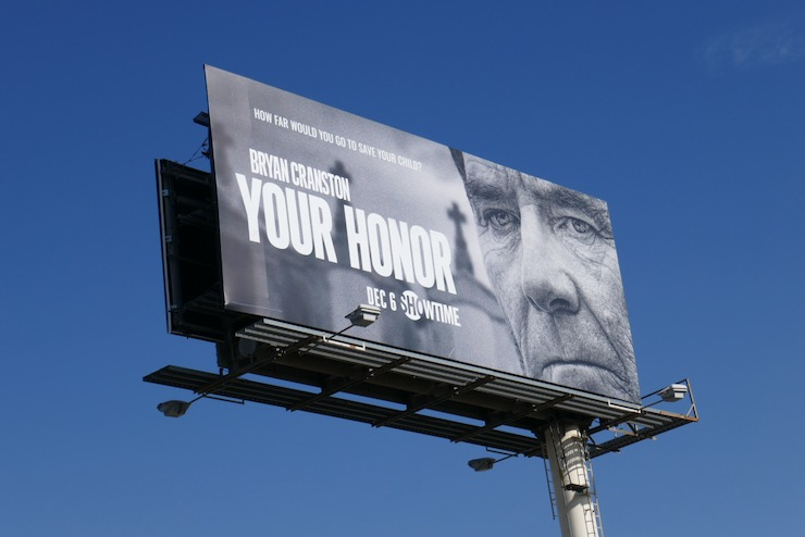 Your Honor Showtime series billboard