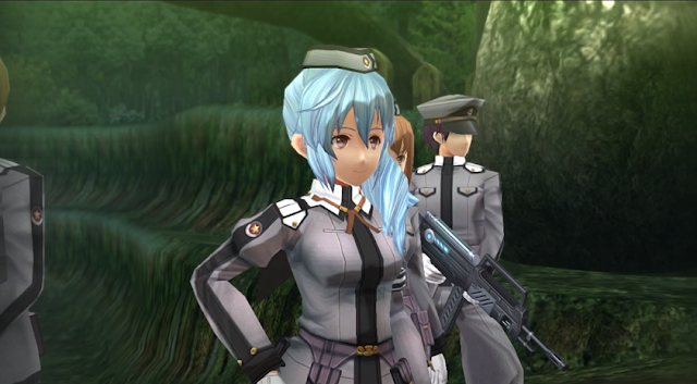 Captain Claire Rieveldt Trails of Cold Steel Chapter Capítulo 1 Unconventional Studies