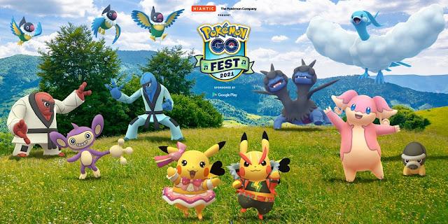 Pokémon GO Fest 2021: Principais Destaques