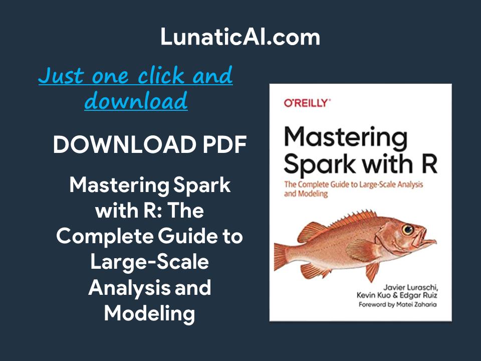 Mastering Spark with R PDF