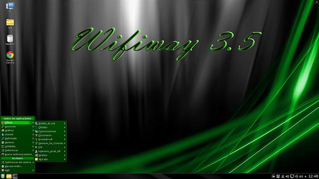 Live CD Wifiway v3.5 con reaver 1.6.1 añadido | La suite de auditoría WiFi hermana pequeña de Wifislax se actualiza
