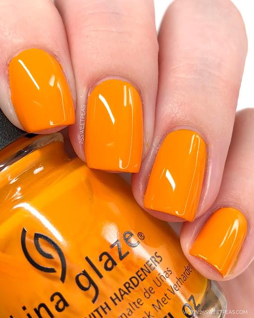 China Glaze Good As Marigold 25 Sweetpeas