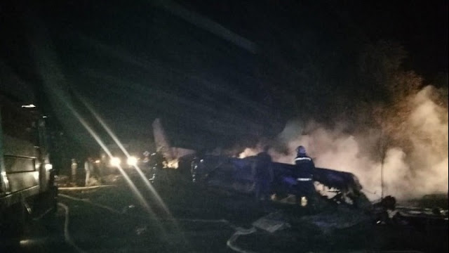 Τραγωδία στην Ουκρανία αππό συντριβή αεροσκάφους - Τουλάχιστον 25 νεκροί