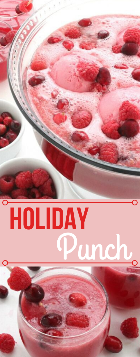 HOLIDAY PUNCH #holiday #punch #party #sangria #easy