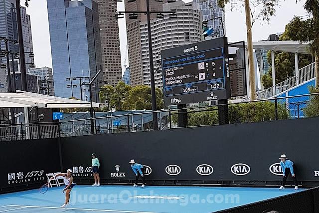 Australia Terbuka: Priska Madelyn Nugroho Melaju ke Putaran Ketiga Usai Kalahkan Dayeon Back