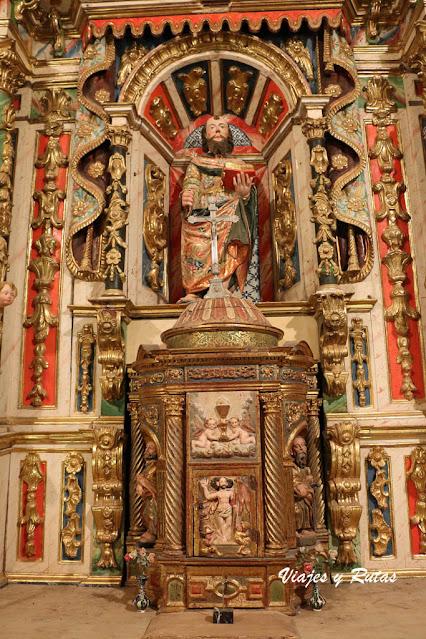 Retablo de la Iglesia de San Andrés de Gama