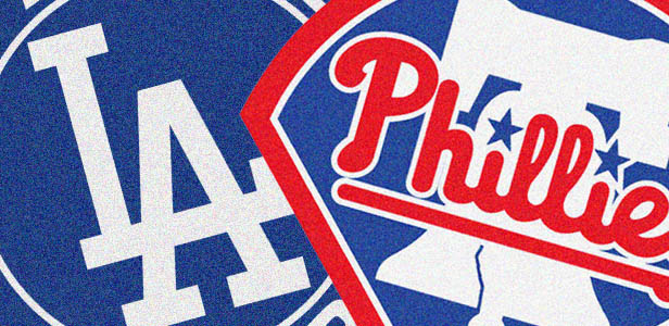 The Phillies welcome to humbled Dodgers for four-game set
