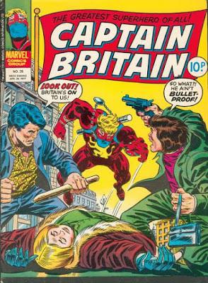 Marvel UK, Captain Britain #28