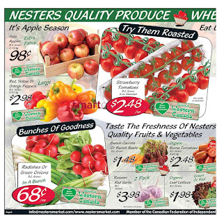 Nesters Market Flyer September 24 – 30, 2017