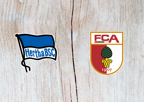 Hertha Berlin vs Augsburg - Highlights 18 December 2018