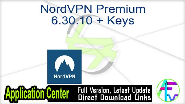 NordVPN Premium 6.30.10 + Keys