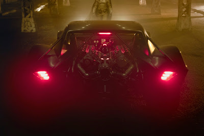 2021 Batmobile rear view