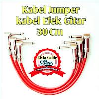 Kabel Jumper / Kabel Jumper Efek Gitar 30cm