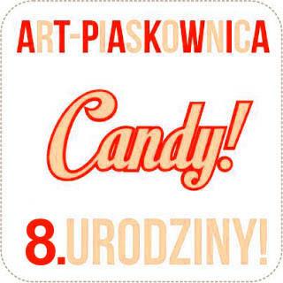 Candy z okazji 8. urodzin Art Piaskownicy