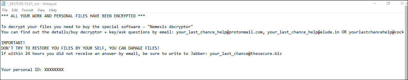 .YOUR_LAST_CHANCE File Virus