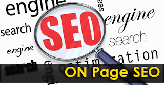 What is on page seo