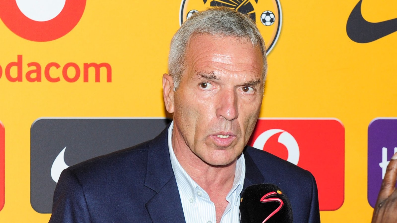 Kaizer Chiefs coach Ernst Middendorp