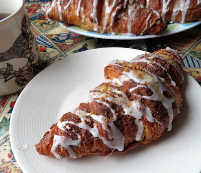 Swedish Pepparkakor Cookie Butter Croissants