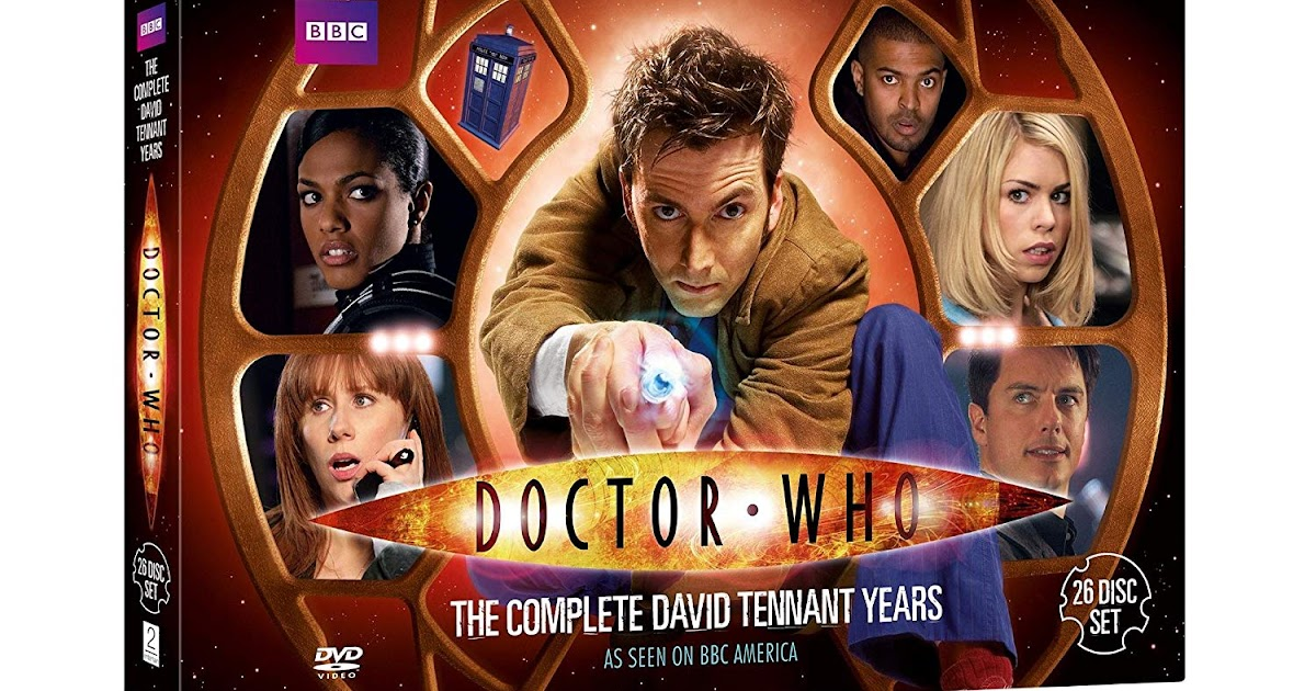Doctor Who: The Complete David Tennant Years to be released on Blu