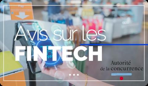 Autorité de la Concurrence – Avis sur les FinTech