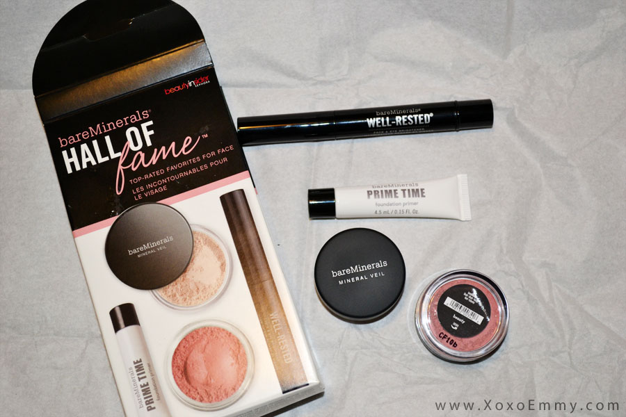 Sephora 500 Points Reward: Bare Minerals Hall of Fame - Xoxo Emmy