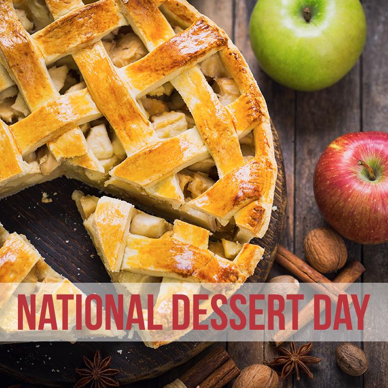 National Dessert Day Wishes Beautiful Image